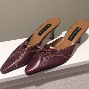 Etienne aigner vintage kitten heels size 8